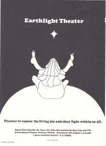 Earthlight - Peter Max poster & program